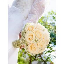 Цветочный бункер. Фото свадебного букета. Букет невесты.